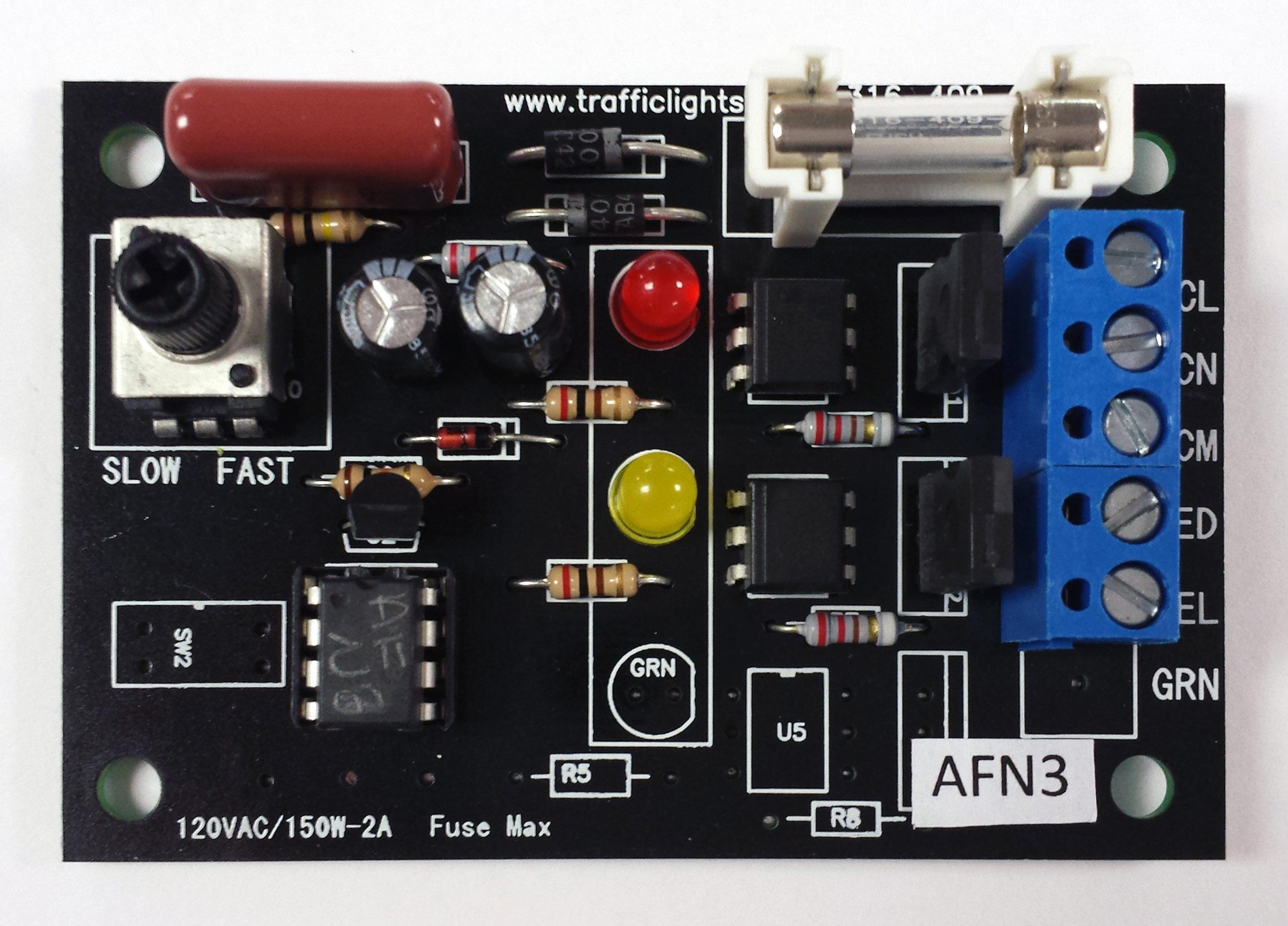 555 Alternating Flasher