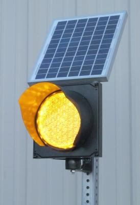 Solar Powered Flashing Led Signal