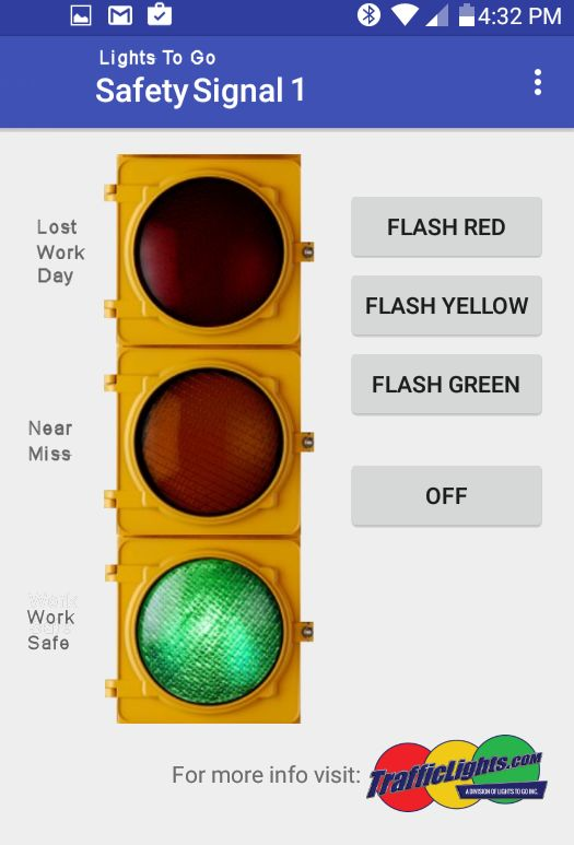 how to change traffic lights with a universal remote