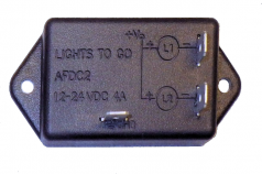 AFDC2-56  2 Light, DC Alternating Flasher