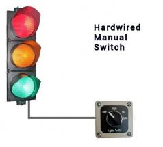 Manual Switch Controlled Safety Light