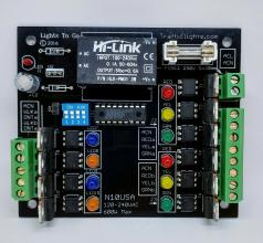 N10 4-way Traffic Light Controller
