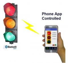 Phone App Controlled Signal